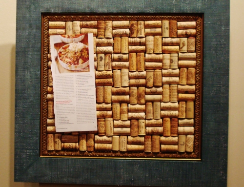 Make Your Own Wine Cork Board