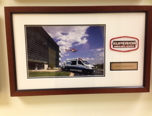 System of Care EMS Wall at Northwest Community Hospital